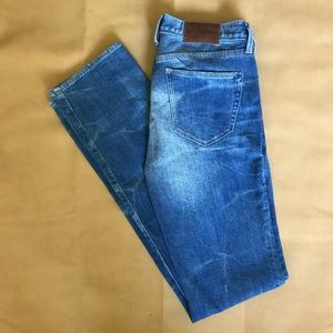 Madewell rail straight denim